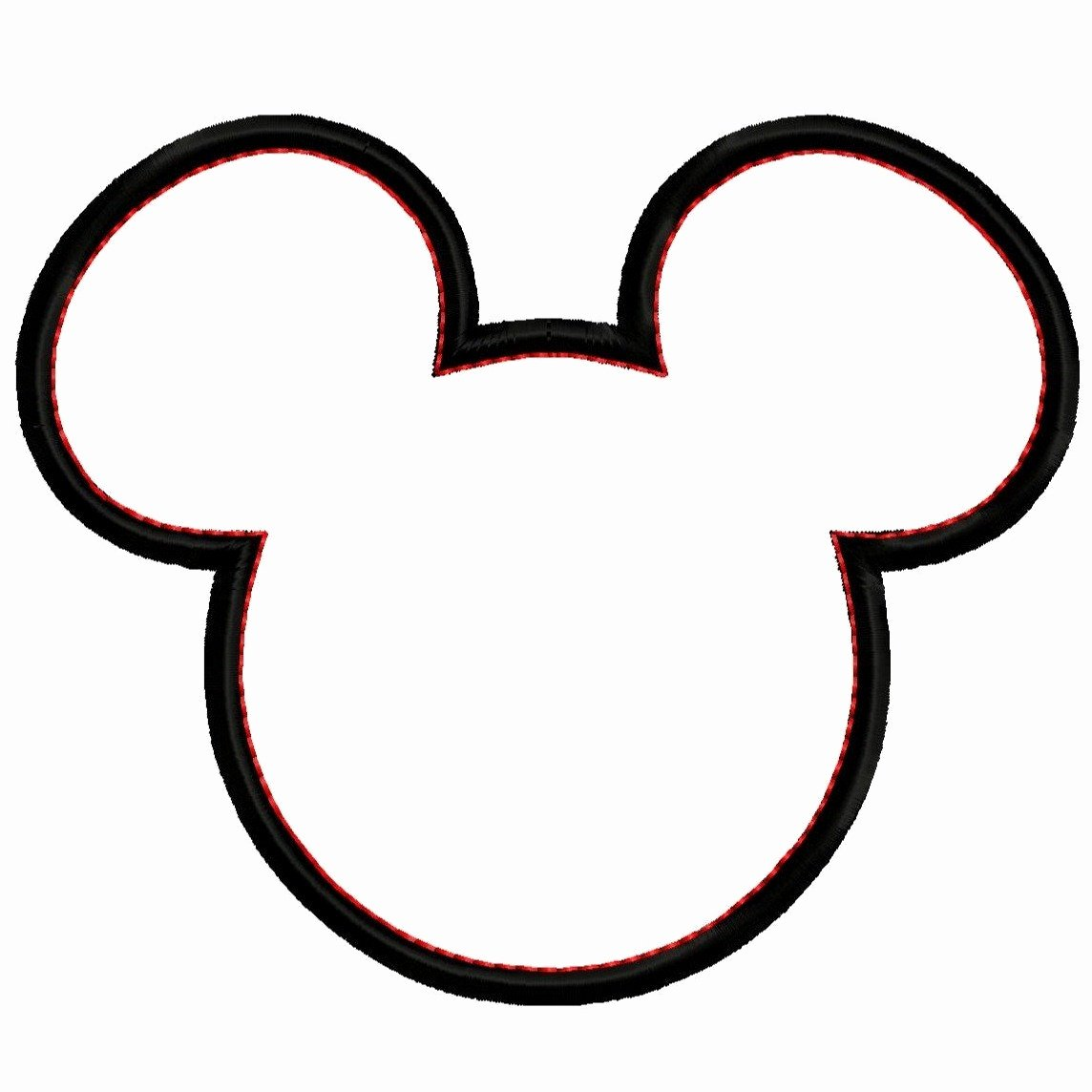 Minnie Mouse Head Silhouette Printable Luxury Free Mickey and Minnie Mouse Silhouette Download Free