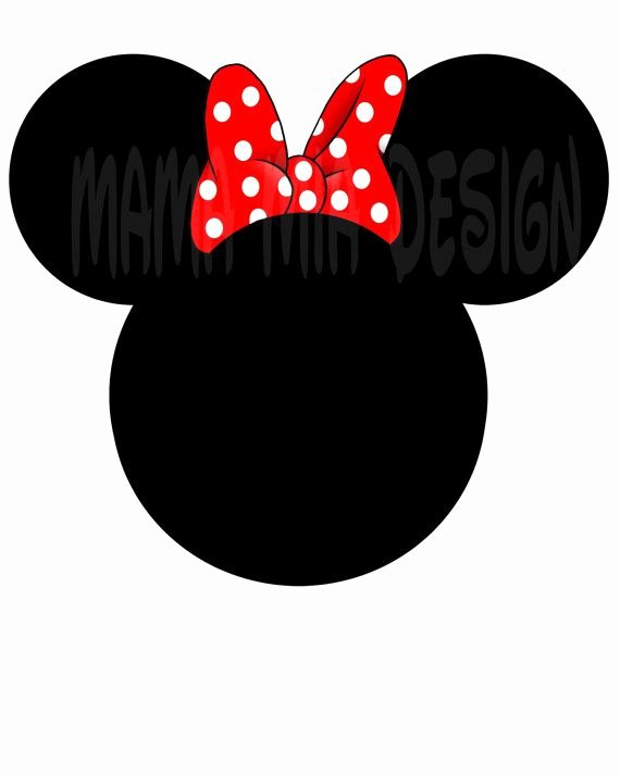 Minnie Mouse Head Silhouette Printable New Pinterest • the World's Catalog Of Ideas