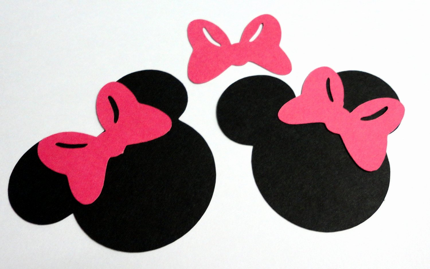 Minnie Mouse Head Silhouette Printable Unique 30 2 5 Minnie Mouse Head Silhouettes Black Cutouts