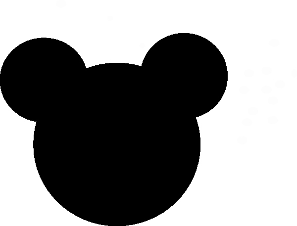 Minnie Mouse Template Head Fresh Minnie Mouse Clip Art at Clker Vector Clip Art