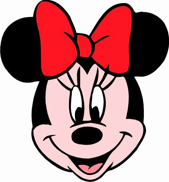 Minnie Mouse Template Head Inspirational Minnie Mouse Head Clip Art
