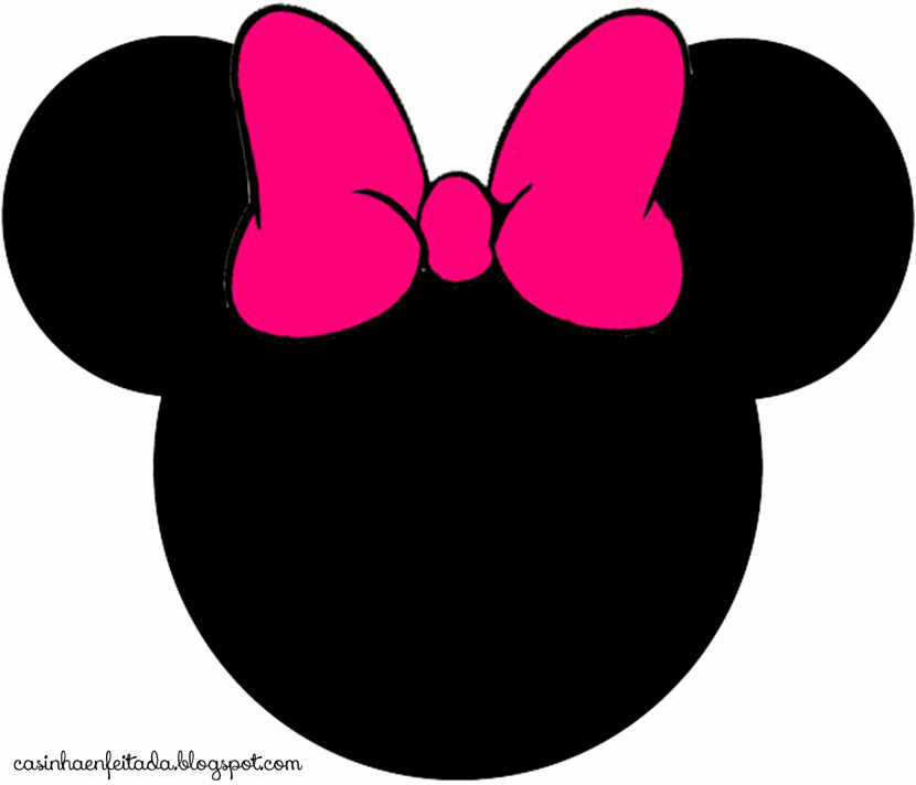 Minnie Mouse Template Head Lovely Best Minnie Mouse Head 9040 Clipartion