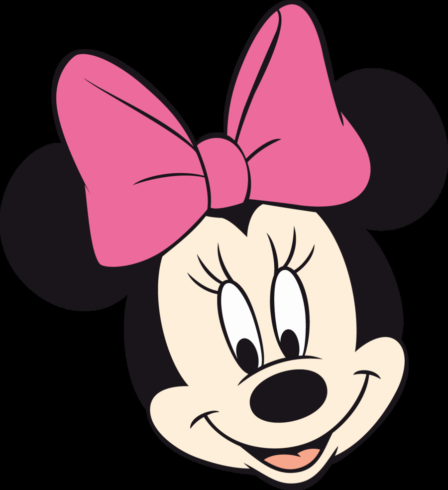 Minnie Mouse Template Head Lovely Free Minnie Mouse Head Vector Download Free Clip Art