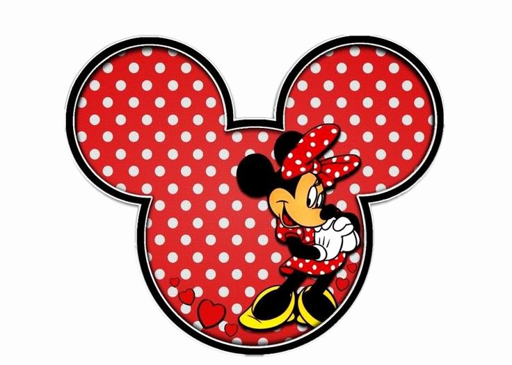 Minnie Mouse Template Head New Minnie Mouse Head Outline Cliparts
