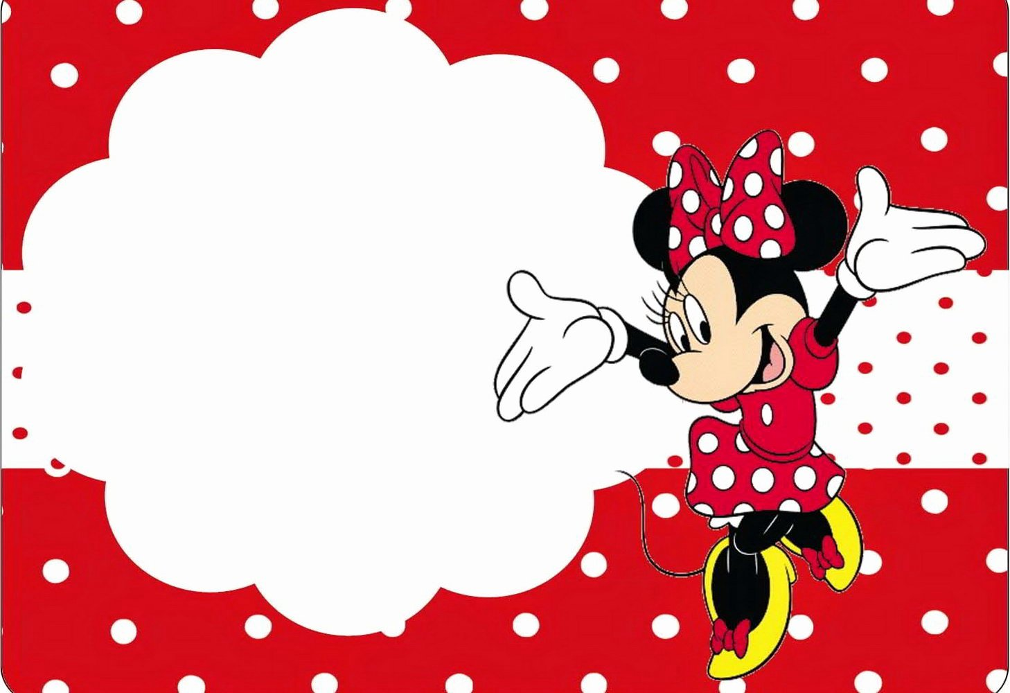 Minnie Mouse Template Pdf Beautiful Minnie Mouse Template