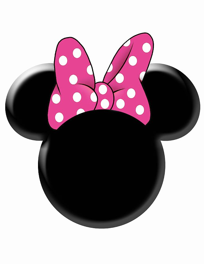 Minnie Mouse Template Pdf Elegant Minnie Mouse Bow Template