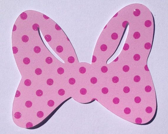 Minnie Mouse Template Pdf New Mouse Bow Template Pink Minnie Mouse Bow Template Pink