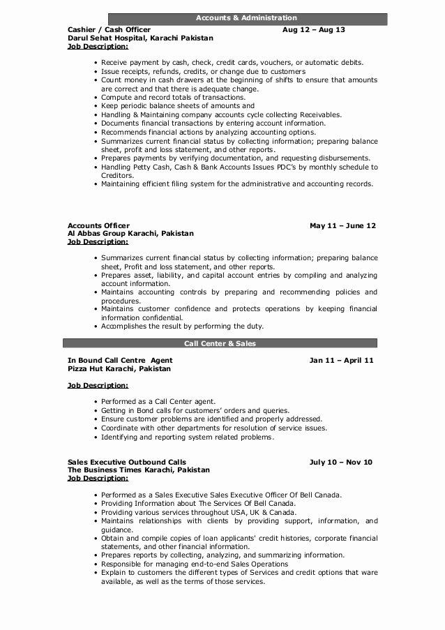 Mis Job Description Fresh Updated Resume Syed Saad Hashmi Updated