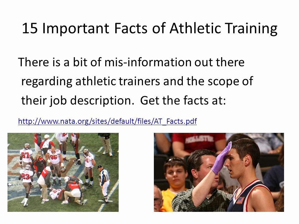 Mis Job Description Unique Intro to Sports Medicine and athletic Training Methuen