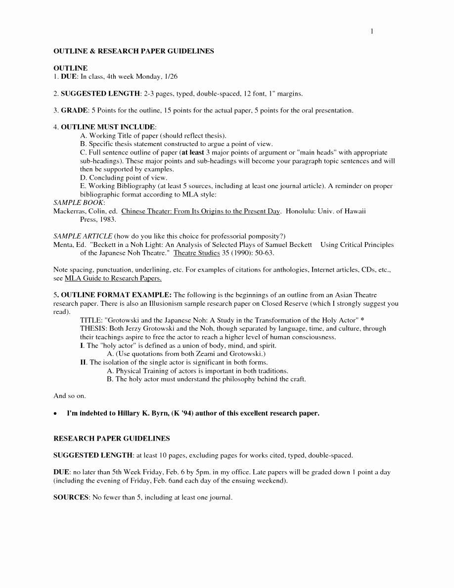 Mla 5 Paragraph Essay format Inspirational 4 5 Mla format Spacing