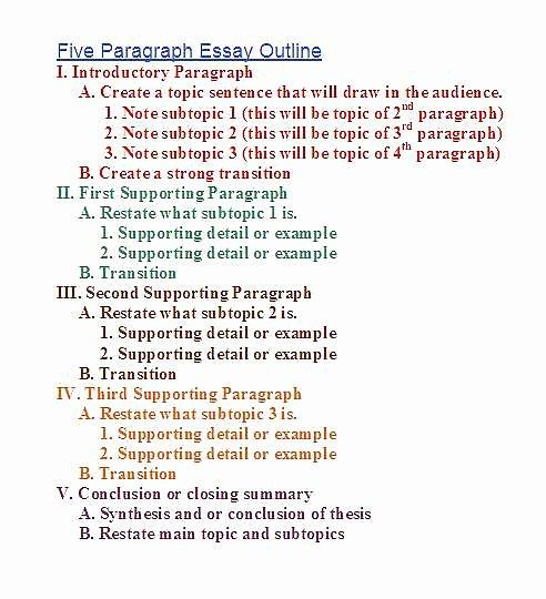 Mla 5 Paragraph Essay format Inspirational Steps & Structure – H1 General Paper 8807