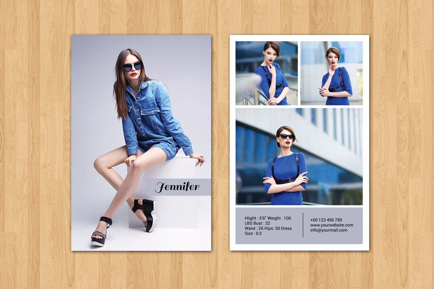 Model Comp Card Template Fresh Modeling P Card Template Fashion Model P Card