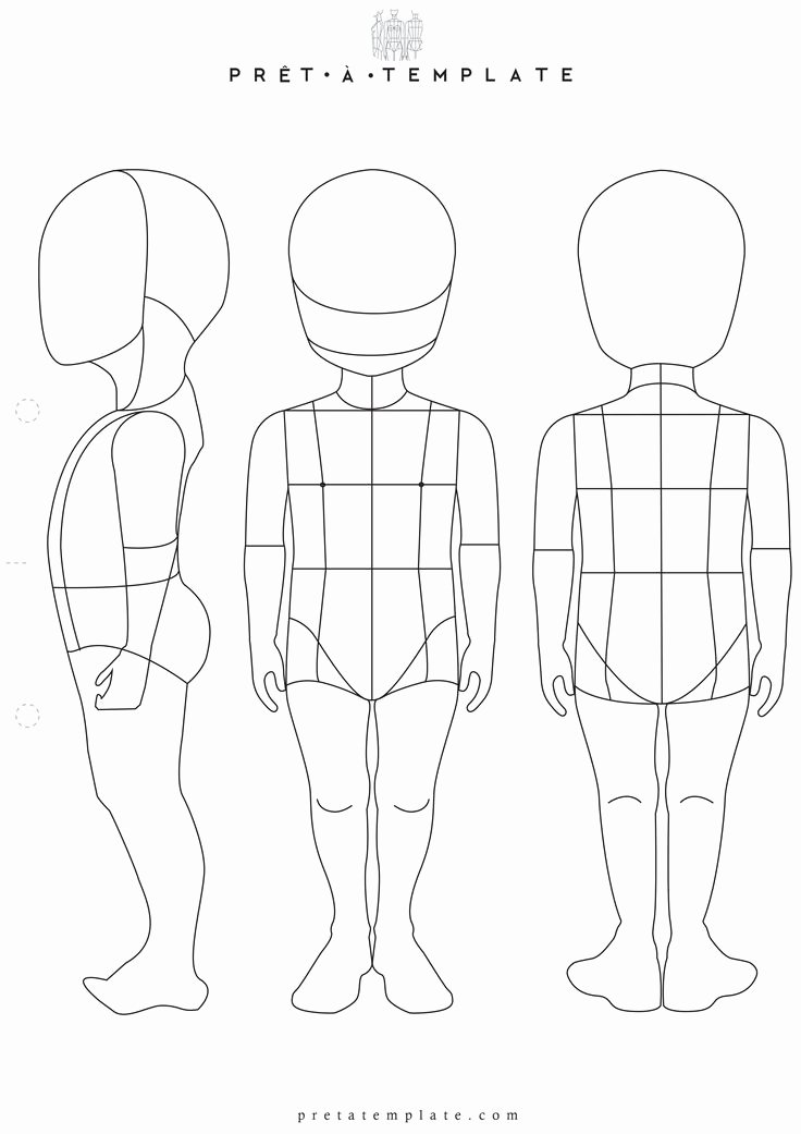 Model Sketches Template Lovely 17 Best Ideas About Body Template On Pinterest