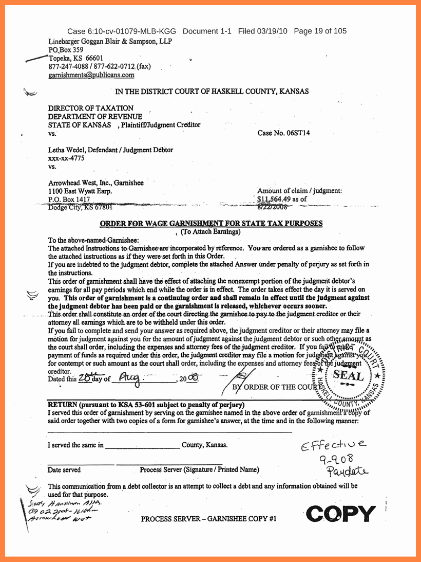 Modification Of Child Support Letter Samples Luxury 6 Child Support Arrears Settlement