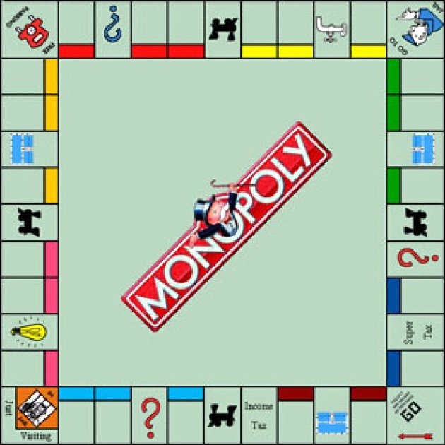 Monopoly Board Layout Luxury Monopoly