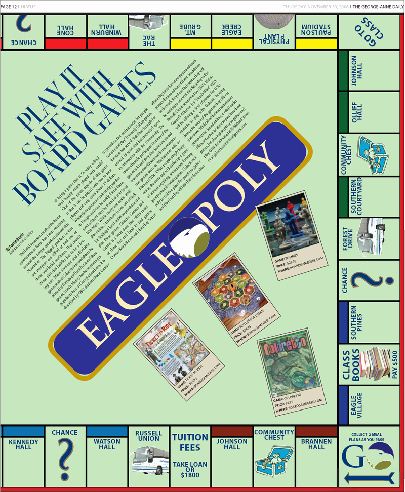 Monopoly Board Layout Unique Newspaper Monopoly Layout by Clinicalmistake On Deviantart