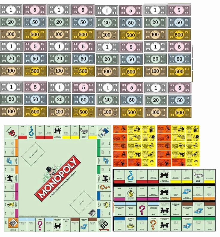 Monopoly Board Printable Beautiful 703 Best Images About Dollhouse Printables toys & Games