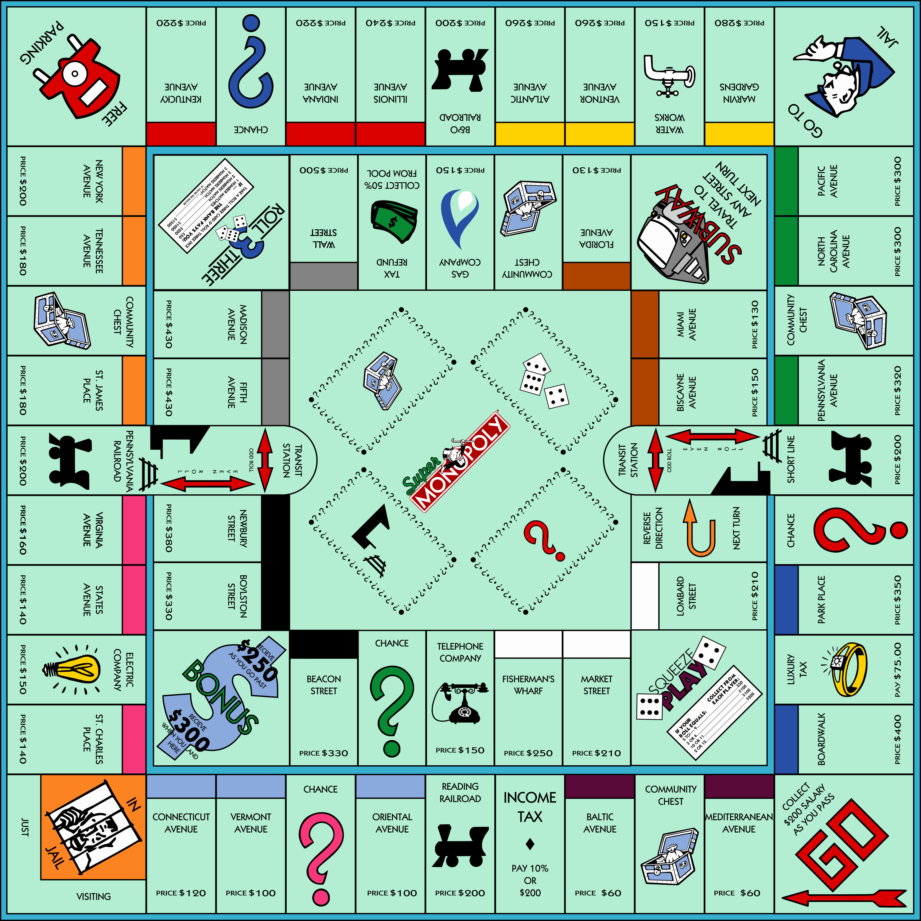 Monopoly Board Printable Beautiful Board Games that Will Never Grow Old Gamersunite