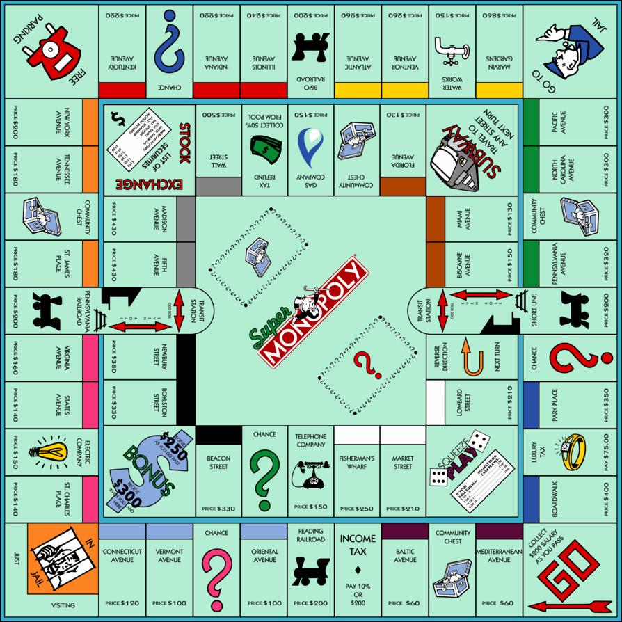 Monopoly Board Printable Inspirational Super Monopoly by Jonizaak On Deviantart