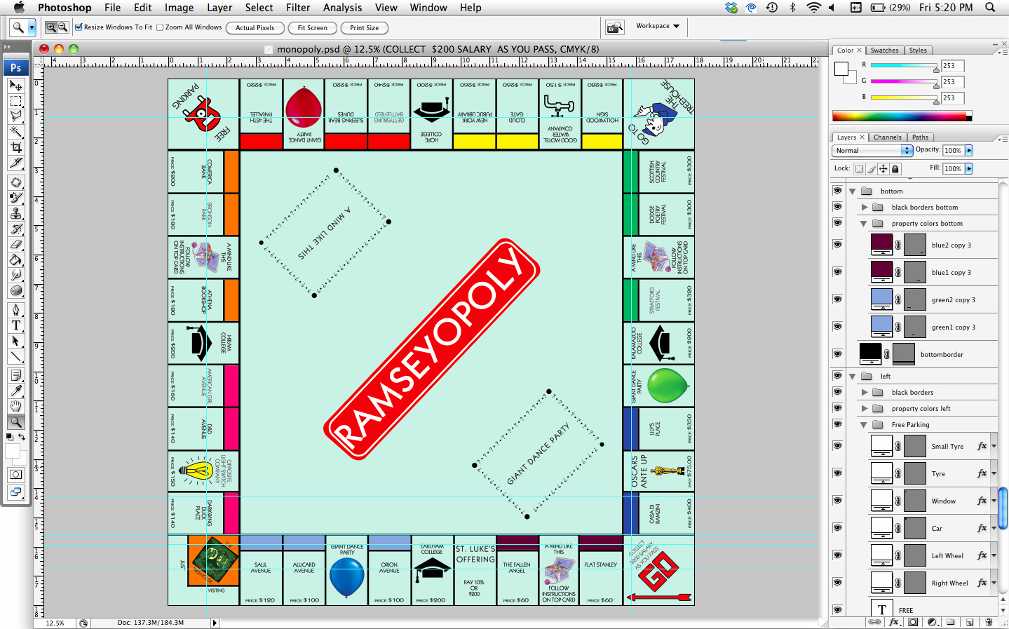 Monopoly Board Template Awesome How to How Hard and How Much How to Make A Personalized