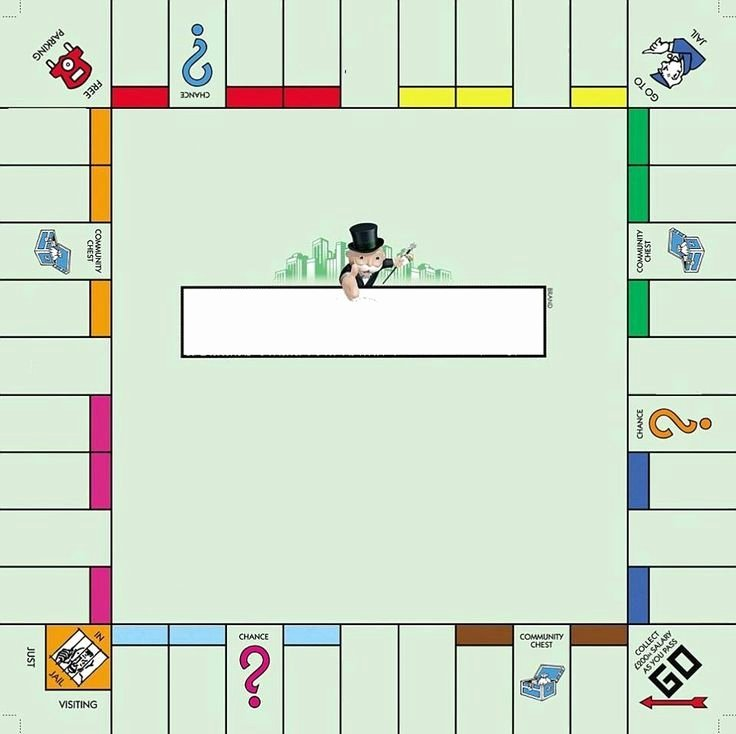 Monopoly Board Template Beautiful 1000 Ideas About Monopoly Board On Pinterest
