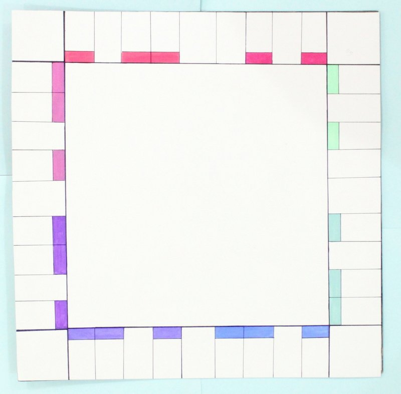 Monopoly Board Template Elegant Diy Personalised Monopoly Board Game