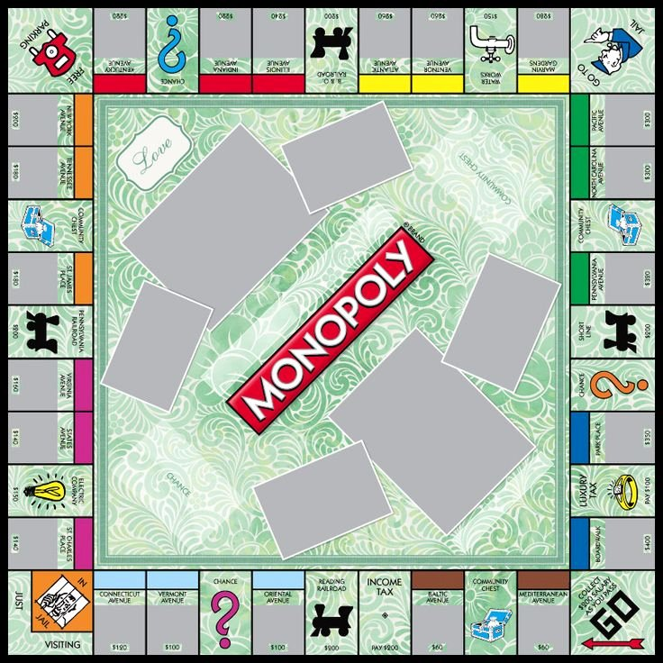 Monopoly Board Template New 18 Best Monopoly Game Templates Images On Pinterest