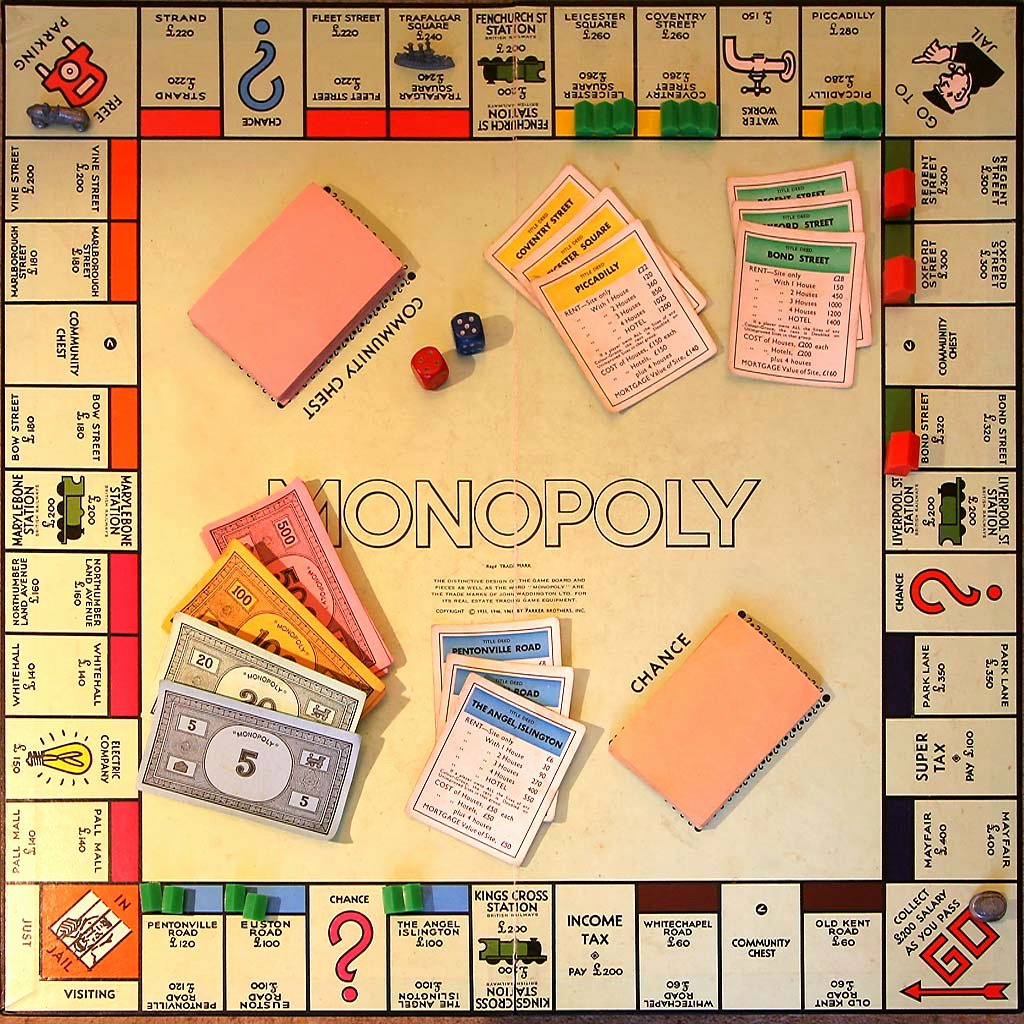 Monopoly Game Board Layout New Limbering Up for the Great London Monopoly Journey – Will