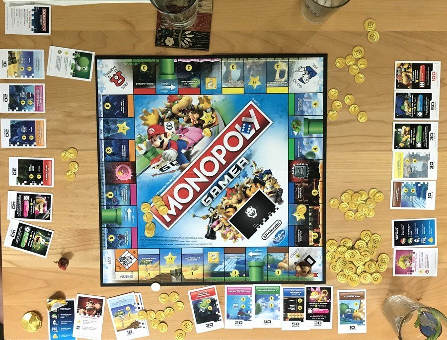 Monopoly Game Board Layout Unique Game Review Monopoly Gamer From Gofatherhood