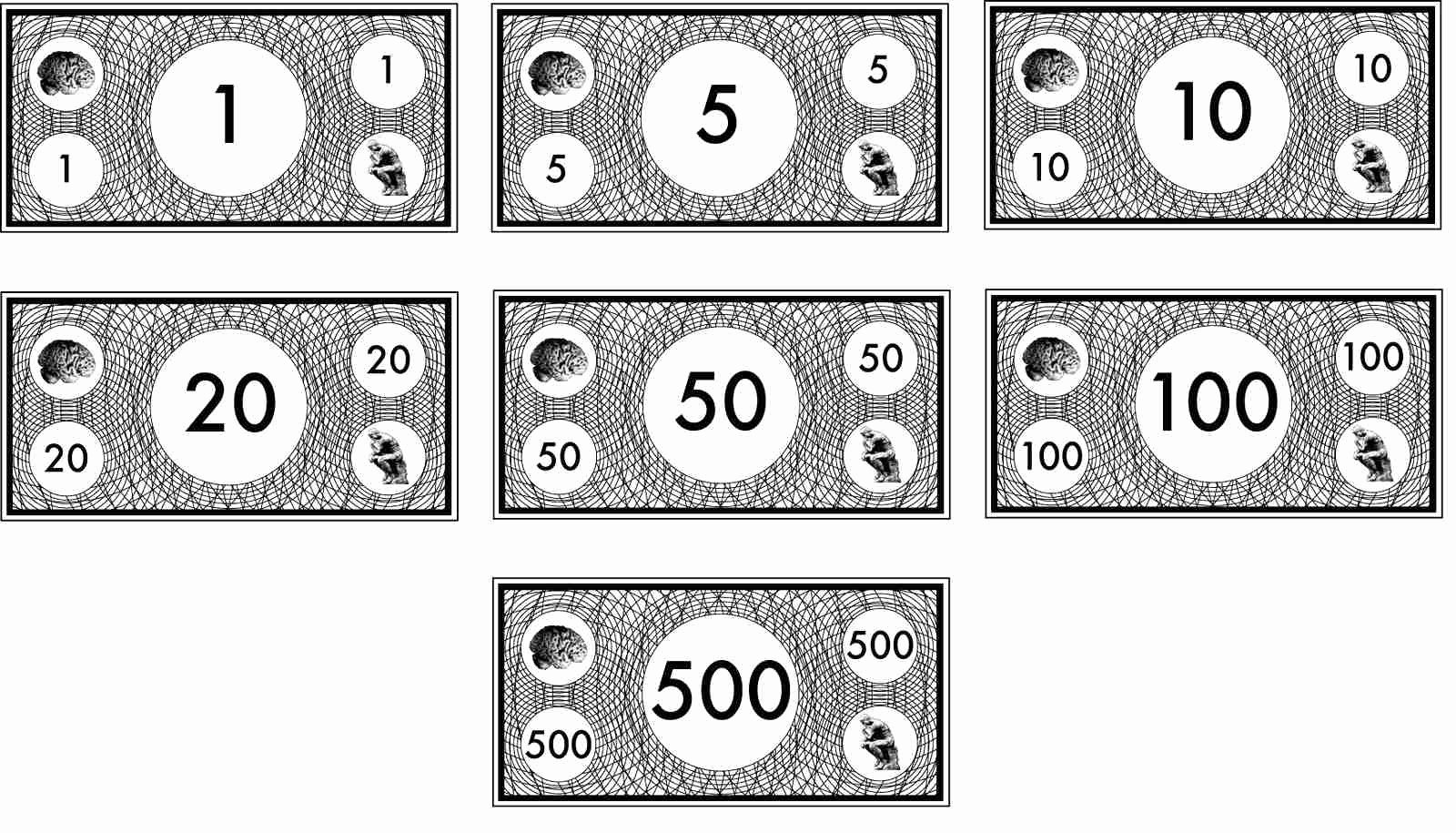 Monopoly Money Template Word Fresh Five Dollar Bill Coloring Page thekindproject