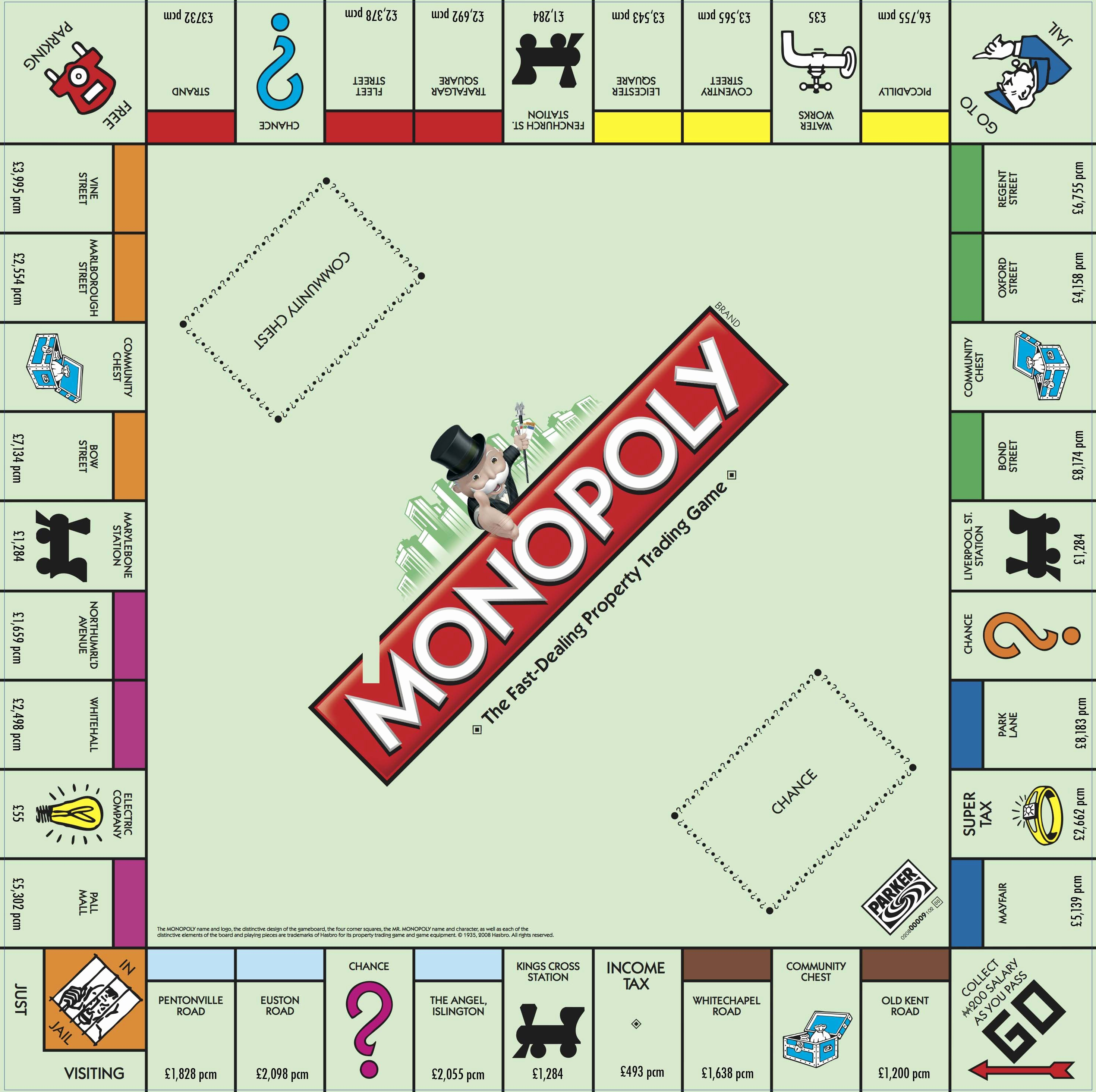 Monopoly Money Template Word Fresh Here's What the Monopoly Board Would Look Like for London