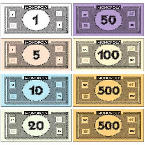 Monopoly Money Template Word Luxury Monopoly Walkway Set Shindigz