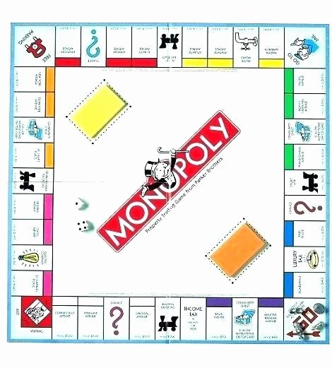 Monopoly Money Template Word New Monopoly Template Word – Automotoreadfo