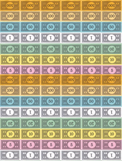 Monopoly Money Template Word Unique System Administrators