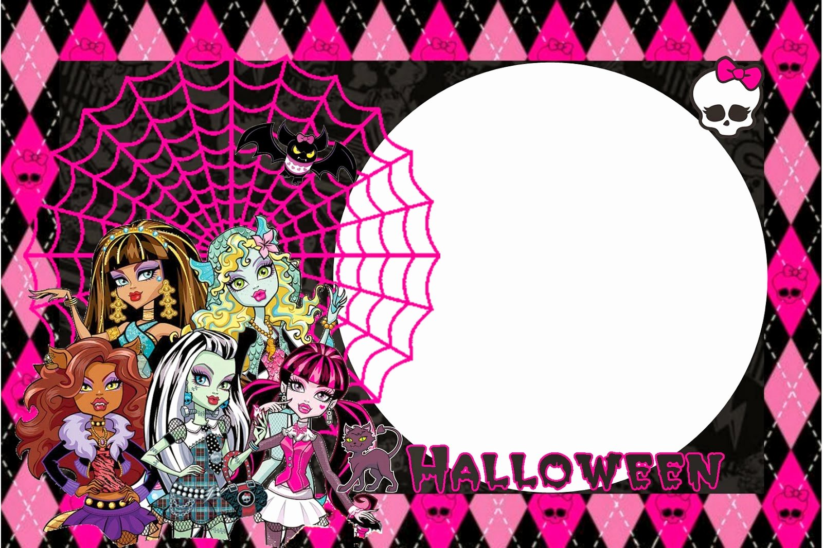 Monster High Invitations Templates Best Of Monster High Halloween Special Free Printable Kit