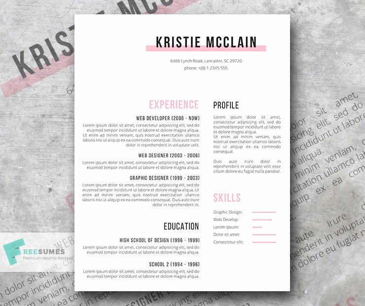 Moo Resume Templates Best Of Spick and Span A Clean Resume Template Freebie Download