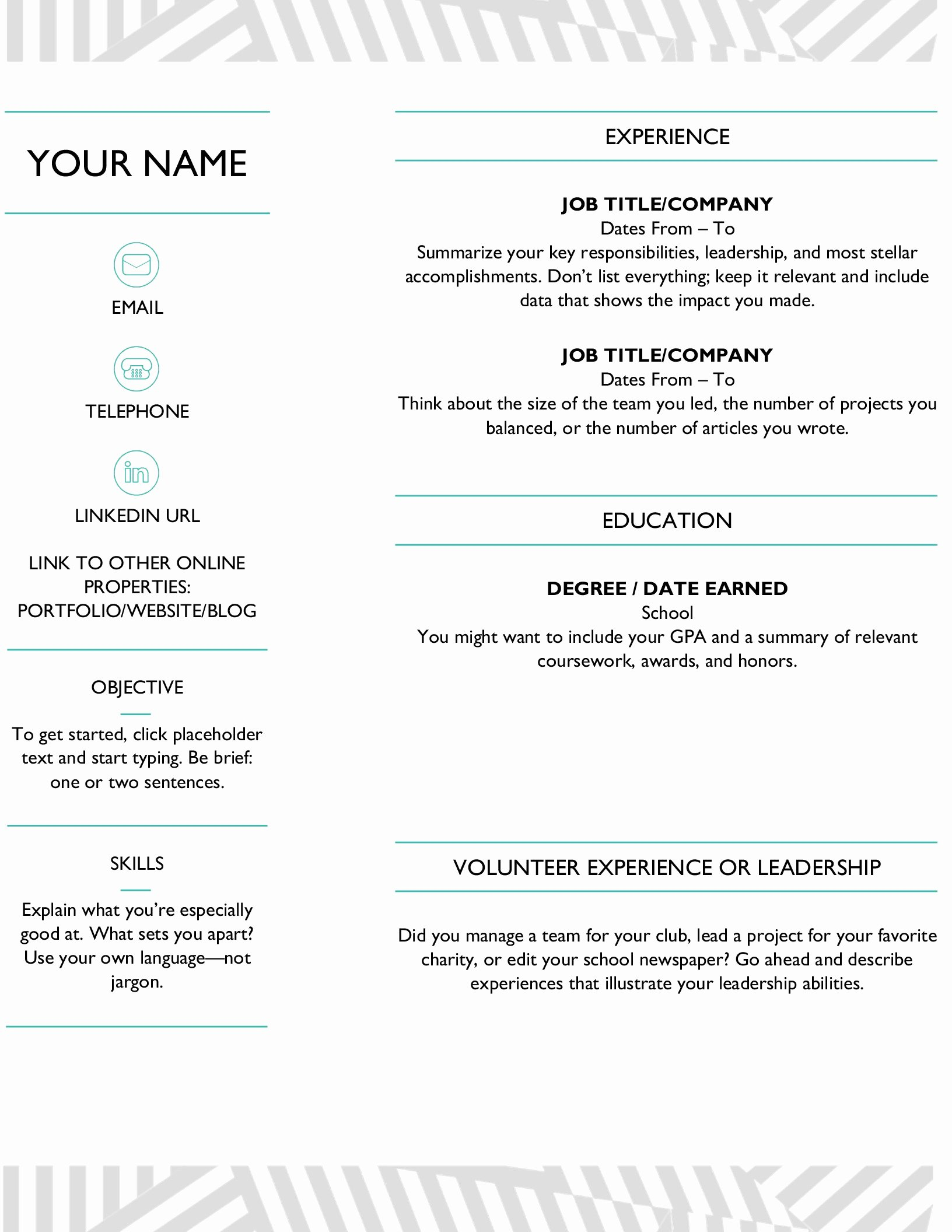 Moo Resume Templates Elegant Resumes and Cover Letters Fice