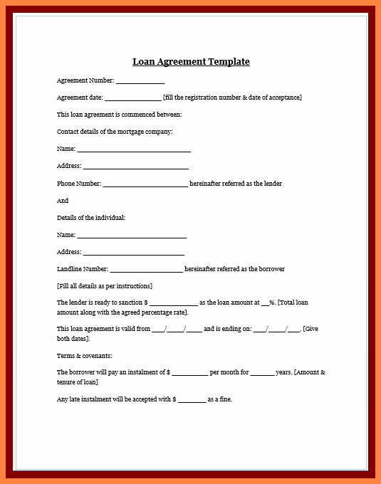 Mortgage Buyout Agreement Awesome 8 Personal Loan Agreement Between Friends