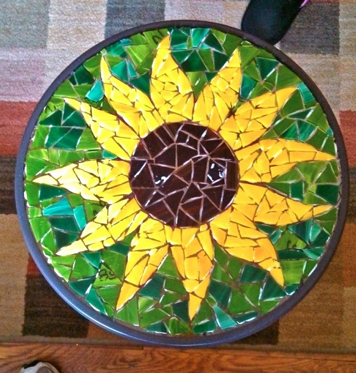 Mosaic Flower Designs Awesome 303 Best Images About Mosaic Tables & Countertops On