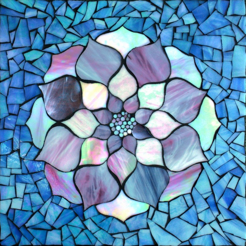 Mosaic Flower Designs Awesome Kasia Mosaics March 2013