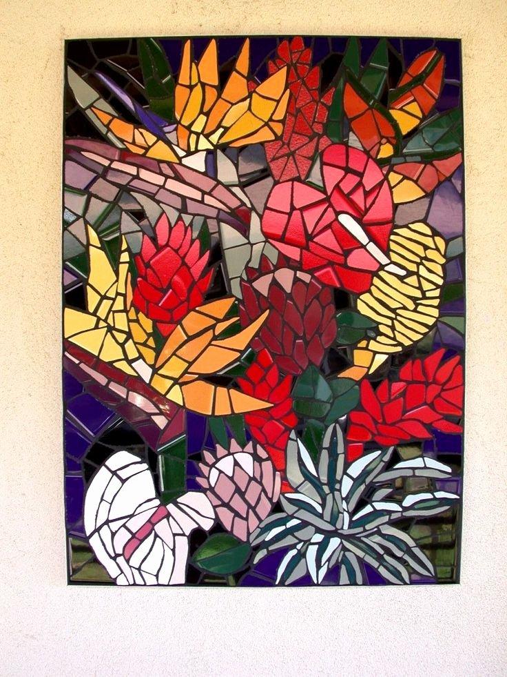 Mosaic Flower Designs Beautiful 24 Best Ideas About Mosaic Designs On Pinterest
