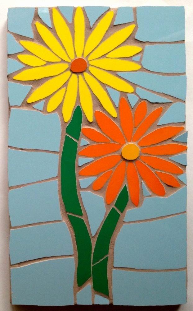 Mosaic Flower Designs Inspirational 25 Best Ideas About Mosaic Flowers On Pinterest