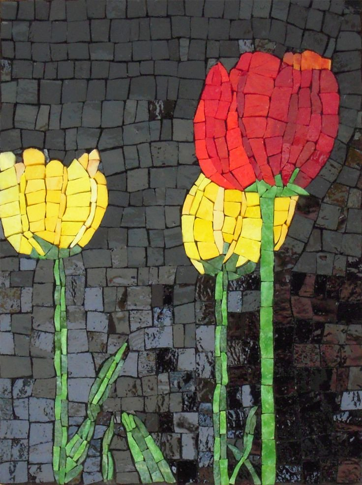 Mosaic Flower Designs Inspirational Best 25 Mosaic Flowers Ideas On Pinterest
