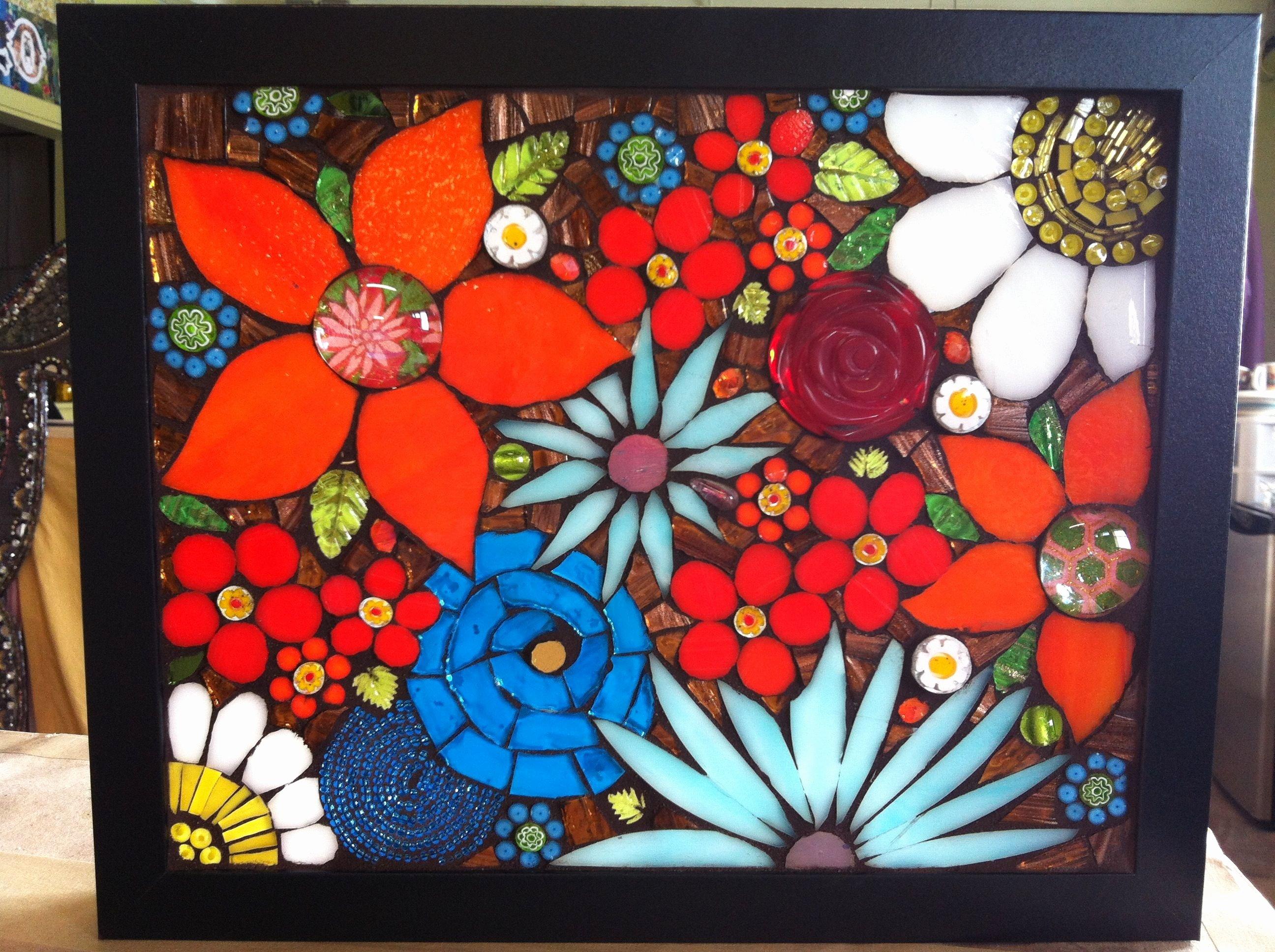 Mosaic Flower Designs Inspirational Flower Mosaic Patterns