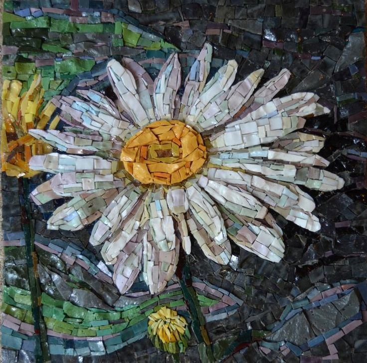 Mosaic Flower Designs Lovely 25 Best Ideas About Mosaic Flowers On Pinterest