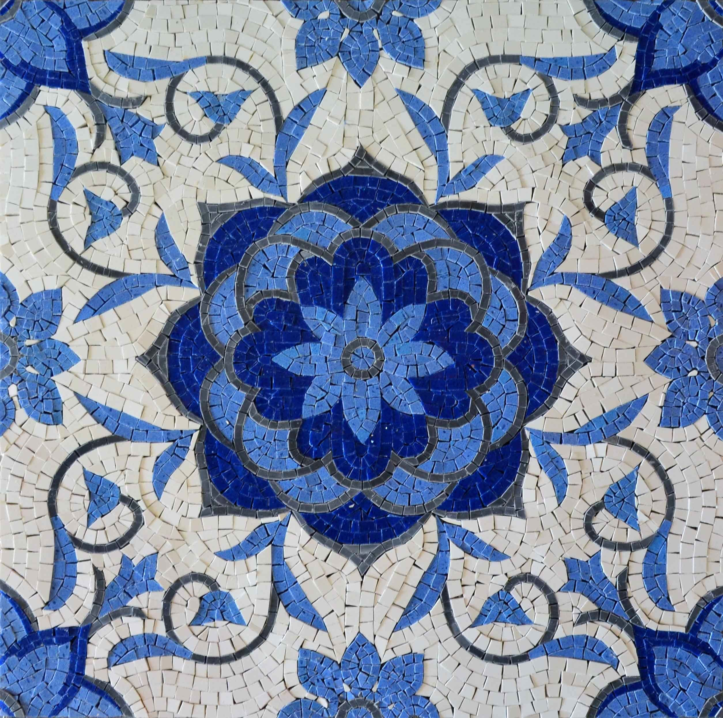 Mosaic Flower Designs New Beautiful Geometric Design Marble Mosaic Tiles with