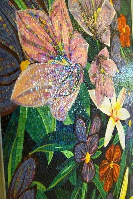 Mosaic Flower Designs New Mosaic Designs Mosaics and Flower On Pinterest