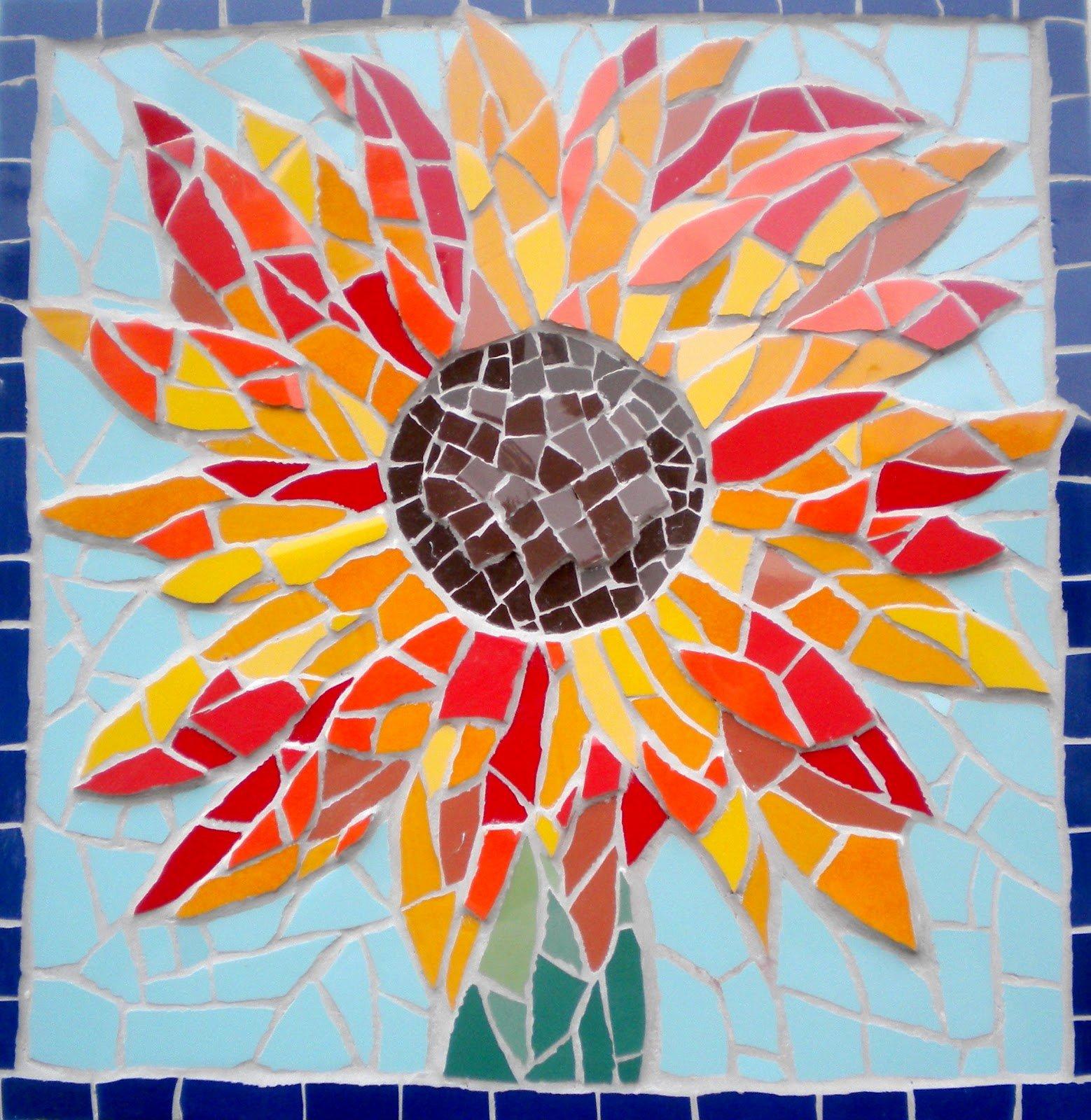 Mosaic Flower Designs Unique Felicity Ball Mosaics Mosaic Spring Colour