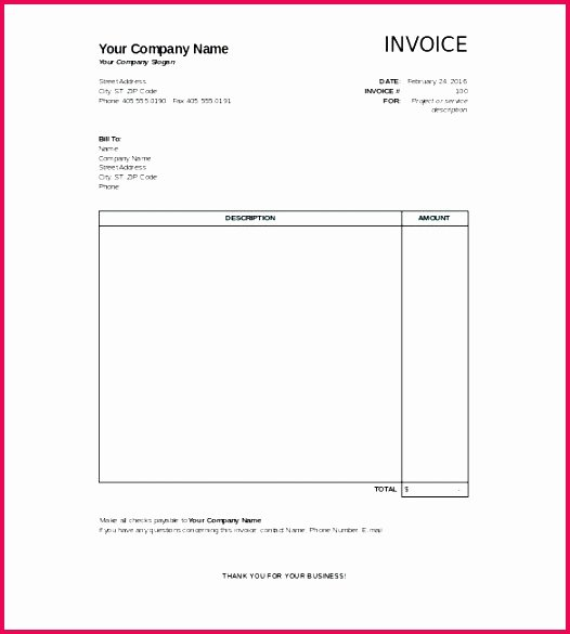 Motel 6 Receipt Template Luxury 6 Indian Hotel Bill format In Excel