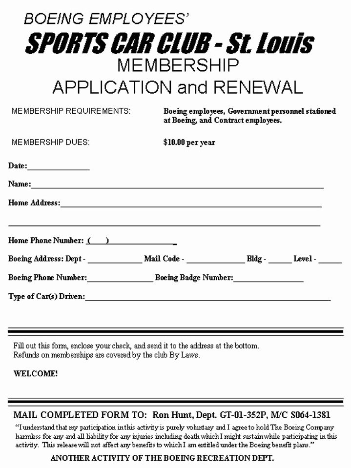 Motorcycle Club Application form Inspirational 29 Of Motorcycle Club Application form Template